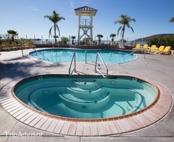 The Pool at the Avila Lighthouse Suites