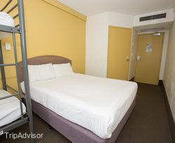 The Quad Room at the Ibis Budget Hotel - Sydney Airport