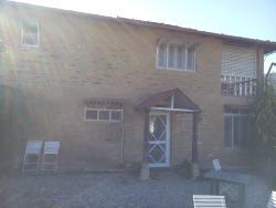 Cliff house entrance