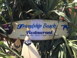 friendship beach restaurant