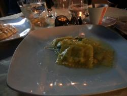 Ravioli with sagne and butter :)