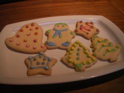My biscuit decorating