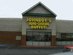 Johnboy's home cooking buffet