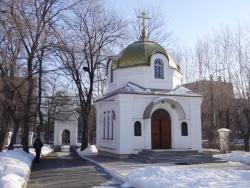 Temple of the Holy Blessed Matrona of Moscow