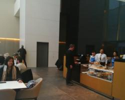 Courtyard Cafe at the Aga Khan Museum