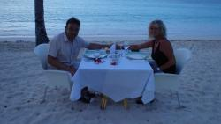 Romantic Dinner am Strand - Surprise from Samuel