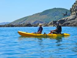 Outdoor Guernsey Shell Beach Kayak Tours