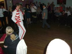 Tribute act in function Room