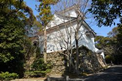 The ruins of Tahara castle