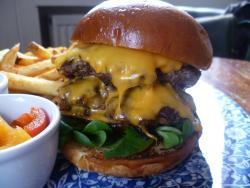 Burger Craft at the Exmouth Arms