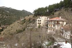 Irida's view to the village & Lousios Gorge