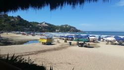 View from our seat at Don Pedro's Restaurant & Bar  |  Calle Marlin #2, Sayulita, Mexico