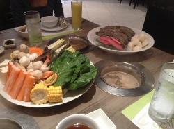 Healthy Shabu Shabu Podium