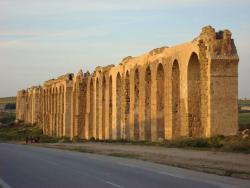 Römisches Aquädukt von Zaghouan nach Karthago