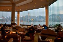 Lounge bar view