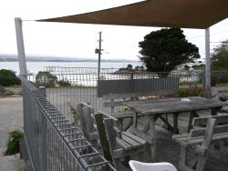 Outdoor seating with seaview