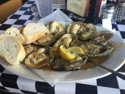 Best char-grilled oysters!