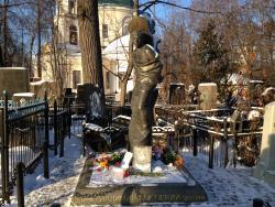 Temple Resurrection at the Vagankovskoye Cemetery