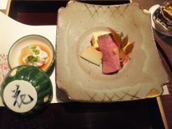 Japanese Kaiseki cuisine Hanatobira