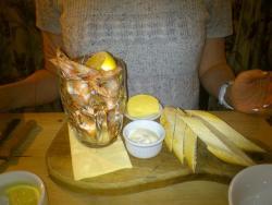 My pint of prawns!