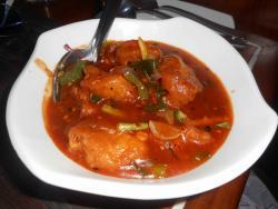 Fish in Hot Garlic Sauce