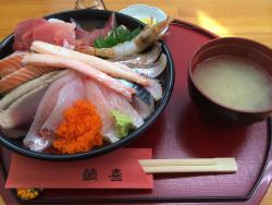 鳥取砂丘の海鮮丼 鯛喜