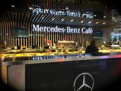 Mercedes Benz Cafe