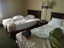 The beds were good