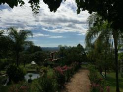 Vista da varanda do Casarão