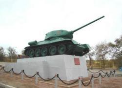 Monument Tank Т-34