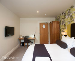 The Poplar Standard Double Room at The Green House