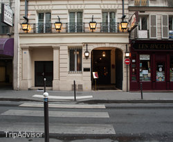 Street at the Maison Athenee