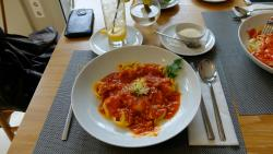 frische Tortellini mit Bolognese