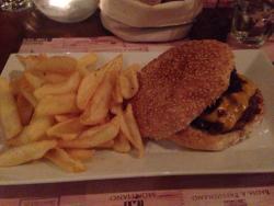 Vin Allegro Restaurant Burger
