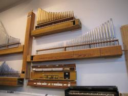 Orgelsmidjan / Pipe Organ Workshop and Exhibition