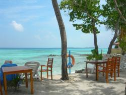 terrasse et plage