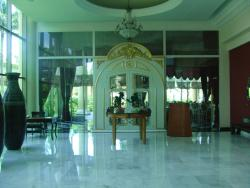 Entrance to one of the dining areas
