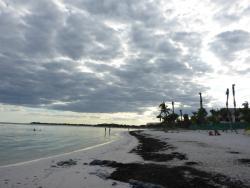 Strand von Richtung Akumal