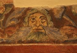 Одна из стенных росписей