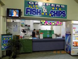 Gropers fish n chips