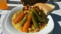 Chicken and veg couscous