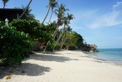 Пляж у резорта