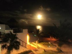 Full moon at Maya Luna. Watch it from your private roof terrace
