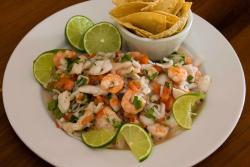 Try our mixed ceviche