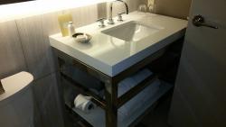 Bathroom glimpse
