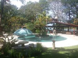The pool area looks decent