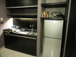 Мини кухня в номере.