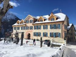 Hotel Meisser in Winter