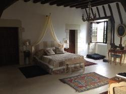 The biggest bedroom I have ever slept in.