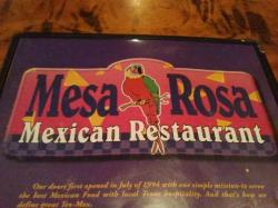 Mesa Rosa Mexican